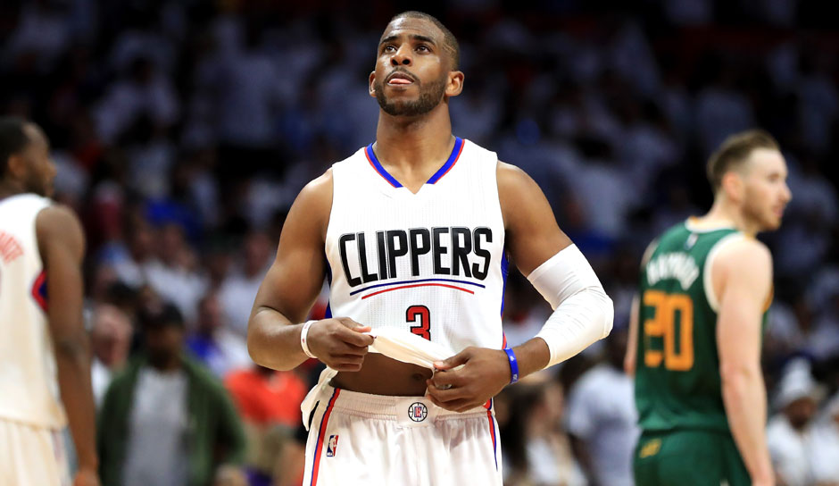 Chris Paul (L.A. Clippers, Guard, 49 Punkte): 18,1 Punkte, 9,2 Assists