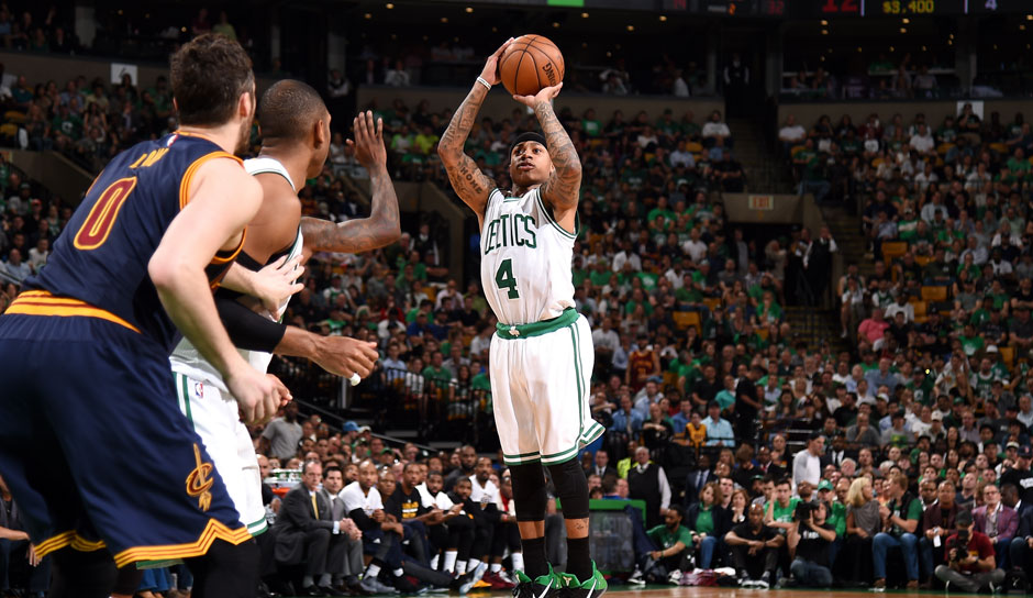ALL SECOND TEAM: Isaiah Thomas (Boston Celtics, Guard, 236 Punkte): 28,9 Punkte, 5,9 Assists