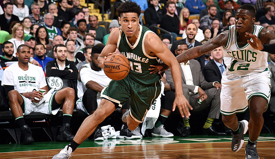 ROOKIE OF THE YEAR: Malcolm Brogdon (Milwaukee Bucks): 10,2 Punkte, 4,2 Assists