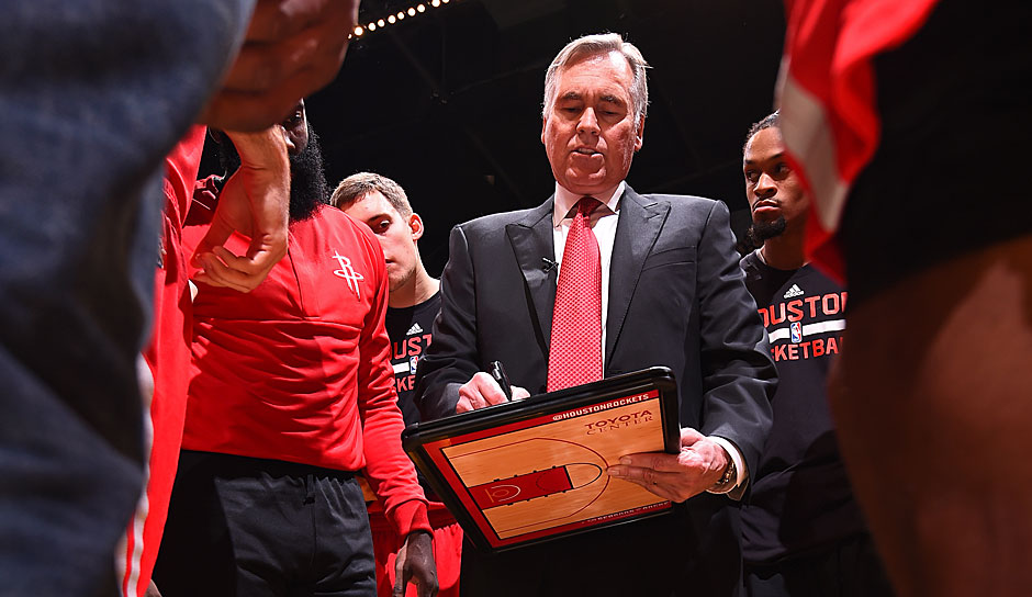 COACH OF THE YEAR: Mike D'Antoni (Houston Rockets): 55 Siege und Platz drei in der Western Conference