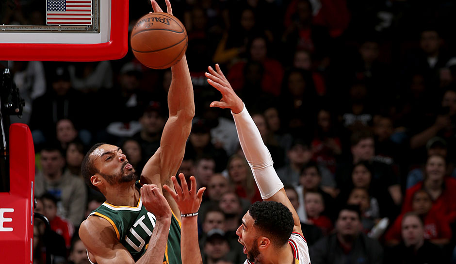 Rudy Gobert (Utah Jazz): 14,0 Punkte, 12,8 Rebounds, 2,6 Blocks