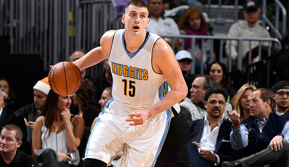 Nikola Jokic (Denver Nuggets): 16,7 Punkte, 9,8 Rebounds