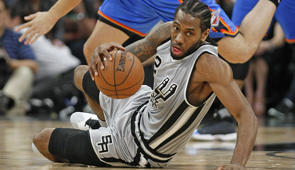 DEFENSIVE PLAYER OF THE YEAR: Kawhi Leonard (San Antonio Spurs): 25,5 Punkte, 5,8 Rebounds, 1,8 Steals
