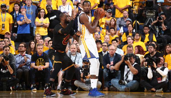 NBA Finals, Game 5: Kevin Durant und Stephen Curry führen ...