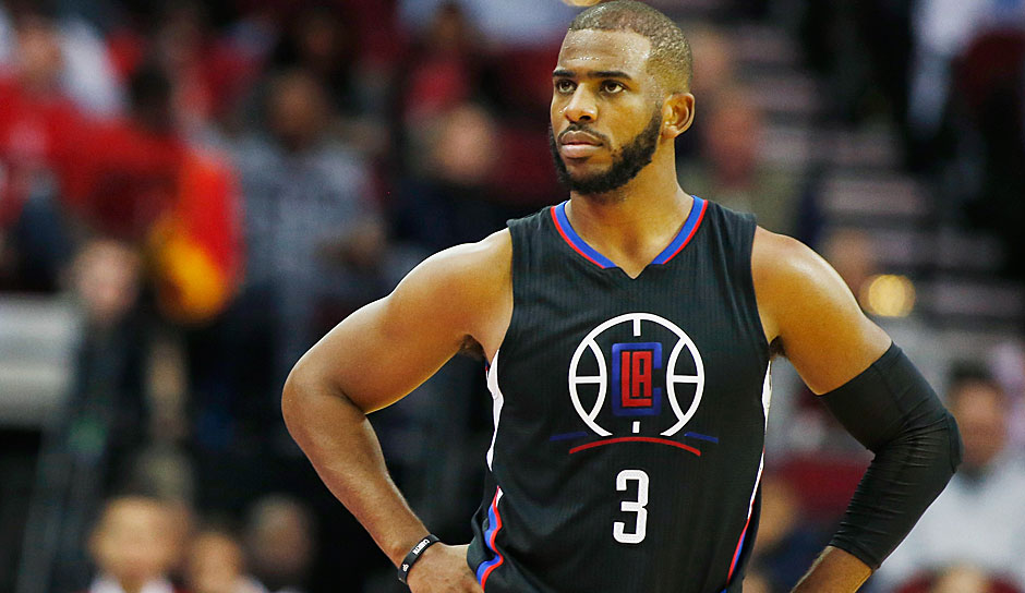 Chris Paul - Unrestricted (oder Spieleroption für weiteres Jahr, Los Angeles Clippers)