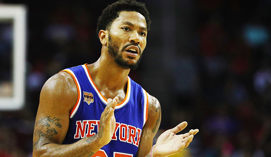Derrick Rose - Unrestricted (New York Knicks)