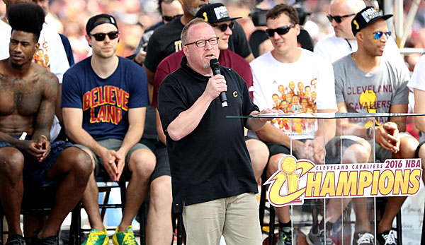 David Griffin war GM des Championship-Teams der Cleveland Cavaliers