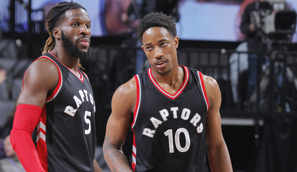 DeMarre Carroll, DeMar DeRozan