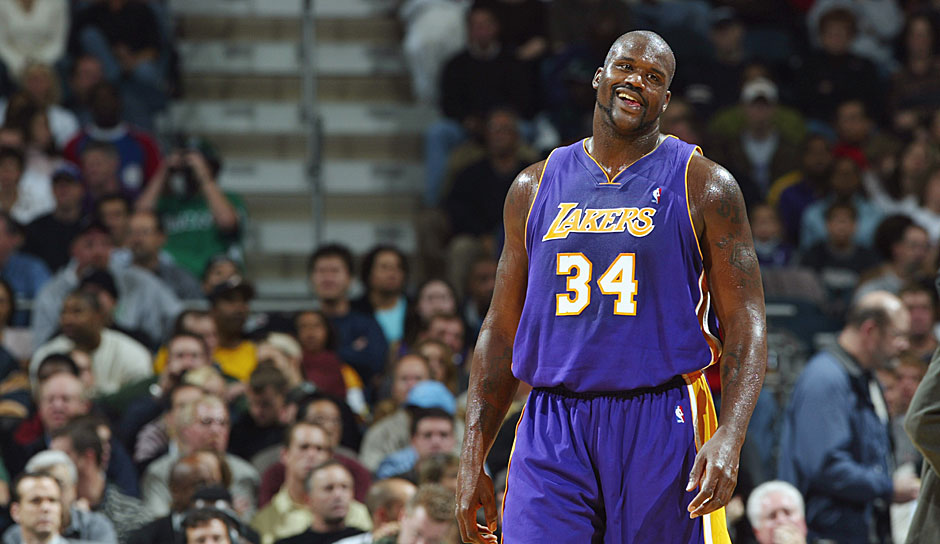 1999/2000: Shaquille O'Neal (Los Angeles Lakers)