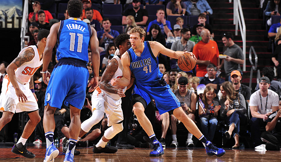 Platz 29: Dallas Mavericks - 28,8 Jahre