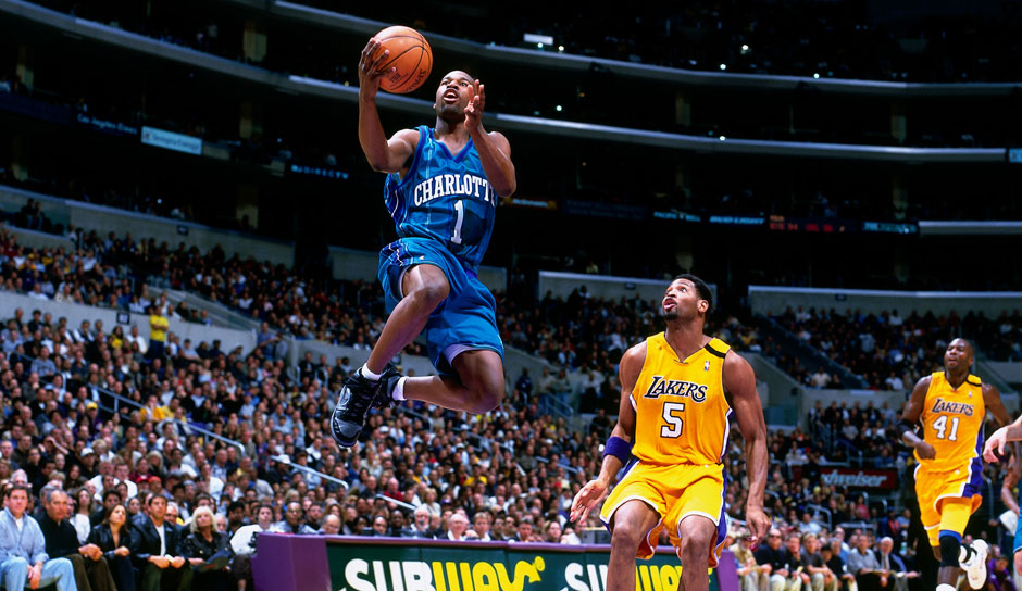 Baron Davis (Charlotte Hornets, 1999/00): 5,9 Punkte, 3,8 Assists