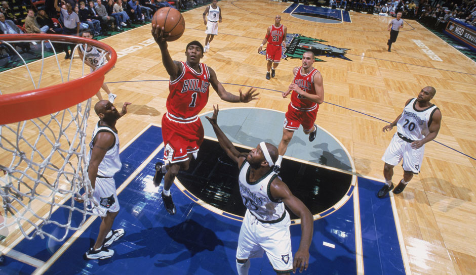 Jamal Crawford (Chicago Bulls, 2000/01): 4,6 Punkte, 2,3 Assists