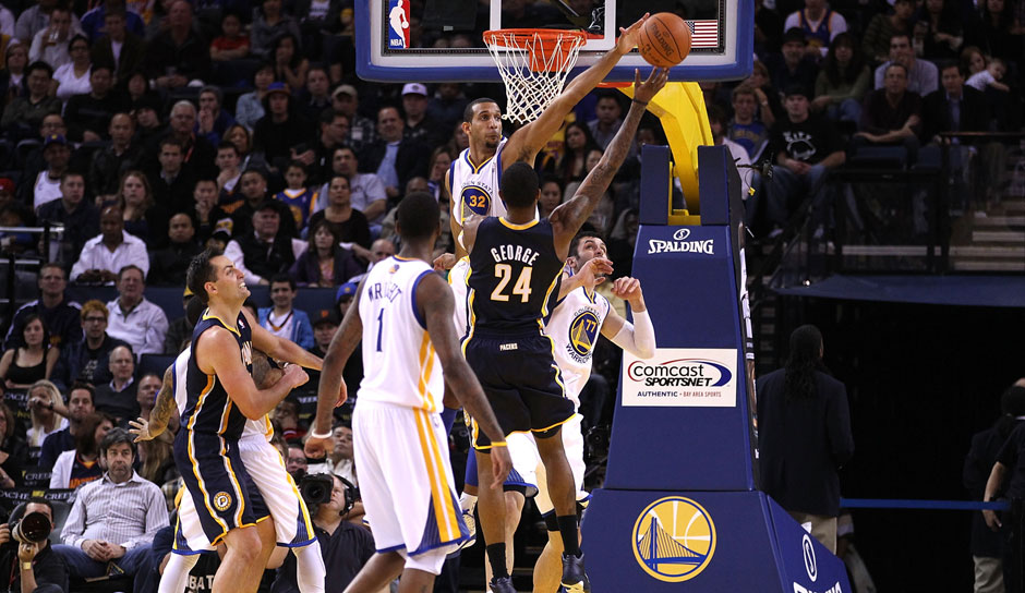 Paul George (Indiana Pacers, 2010/11): 7,8 Punkte, 3,7 Rebounds