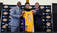 Die neuen Gesichter der Lakers: Magic Johnson, Lonzo Ball und Rob Pelinka