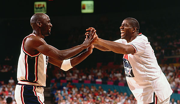 Michael Jordan und Magic Johnson waren die absoluten Top-Stars des Teams
