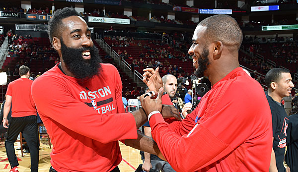James Harden und Chris Paul