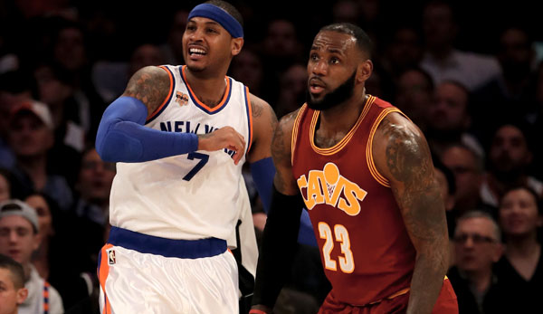 Carmelo Anthony und LeBron James