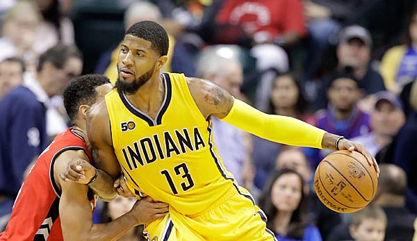 Paul George kam im Sommer per Trade zu den Oklahoma City Thunder