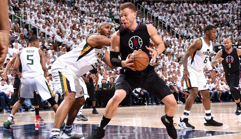 Platz 3: Blake Griffin (Los Angeles Clippers) - 87