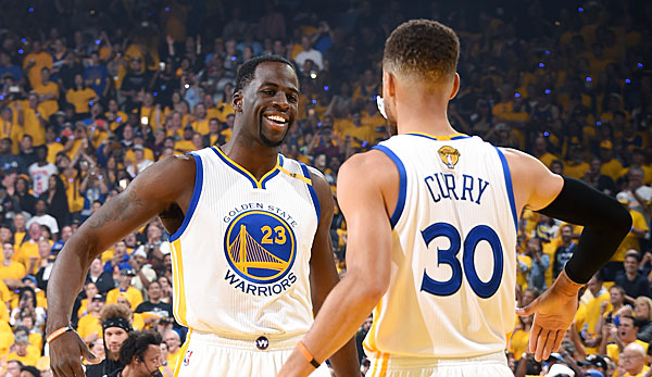 Stephen Curry und Draymond Green