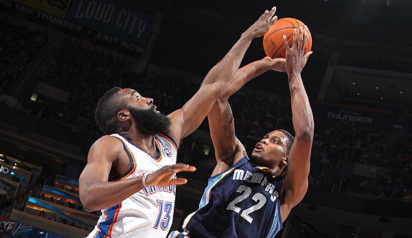James Harden und Rudy Gay