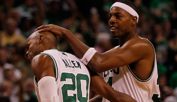 Paul Pierce und Ray Allen