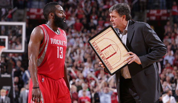 James Harden, Kevin McHale