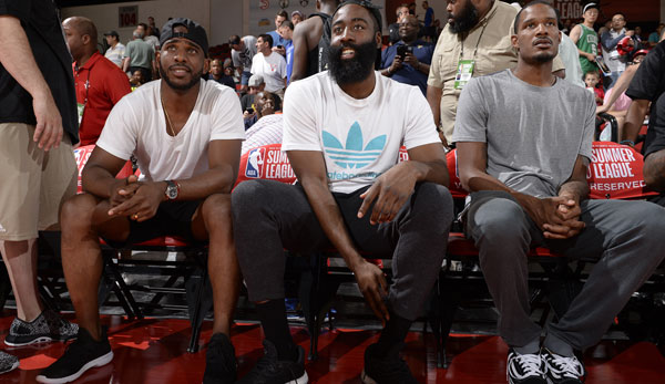 Chris Paul, James Harden, Trevor Ariza