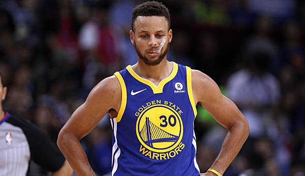 Stephen Curry spielt für die Golden State Warriors