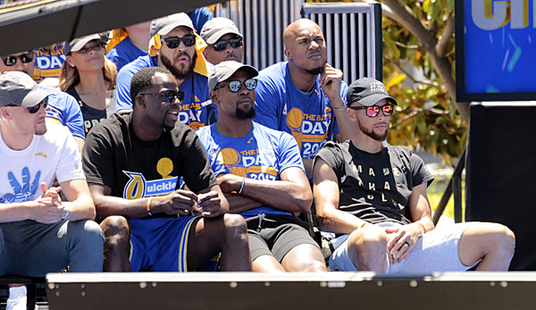 Die Golden State Warriors sind der amtierende Champion in der NBA