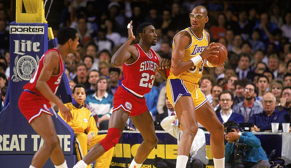 Platz 2: Los Angeles Lakers 1986/87 - Offensivrating: 115,6 - NBA Champion