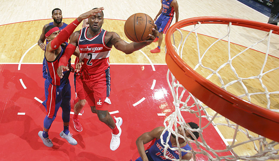 John Wall (Washington Wizards): 39,5 Punkte
