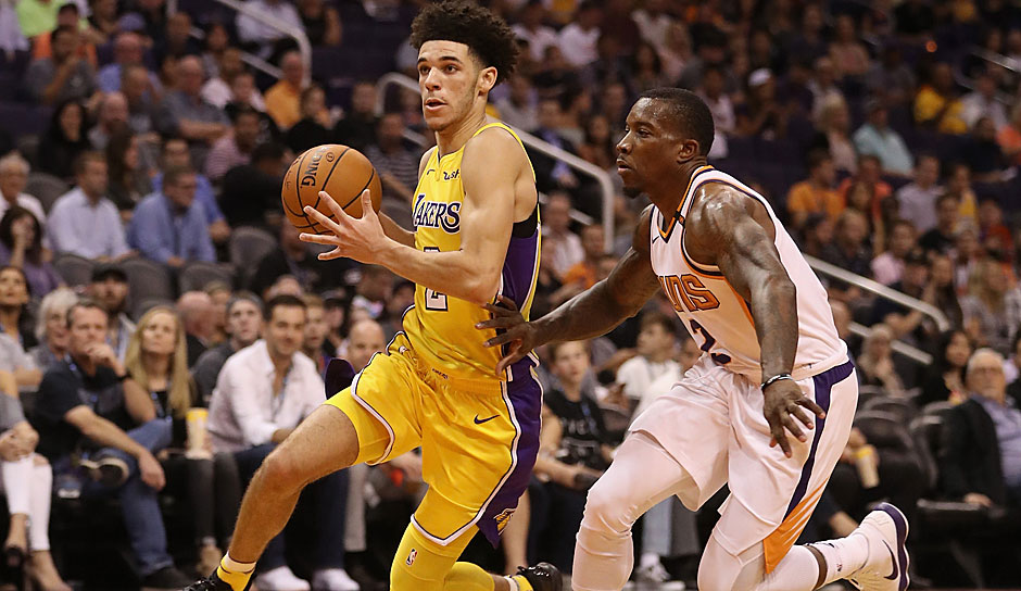 Lonzo Ball (Los Angeles Lakers): 42,5 Punkte
