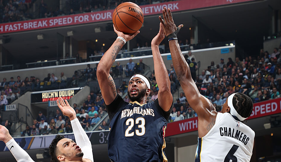 Anthony Davis (New Orleans Pelicans): 53,2 Punkte