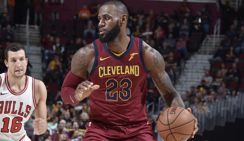 LeBron James (Cleveland Cavaliers): 58 Punkte