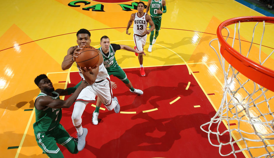 Giannis Antetokounmpo (Milwaukee Bucks): 41 Punkte