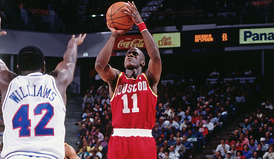 Platz 5: Vernon Maxwell (Houston Rockets) - 2 Punkte (0/13 FG, 0/6 Dreier) gegen die Washington Bullets in der Saison 1990/91