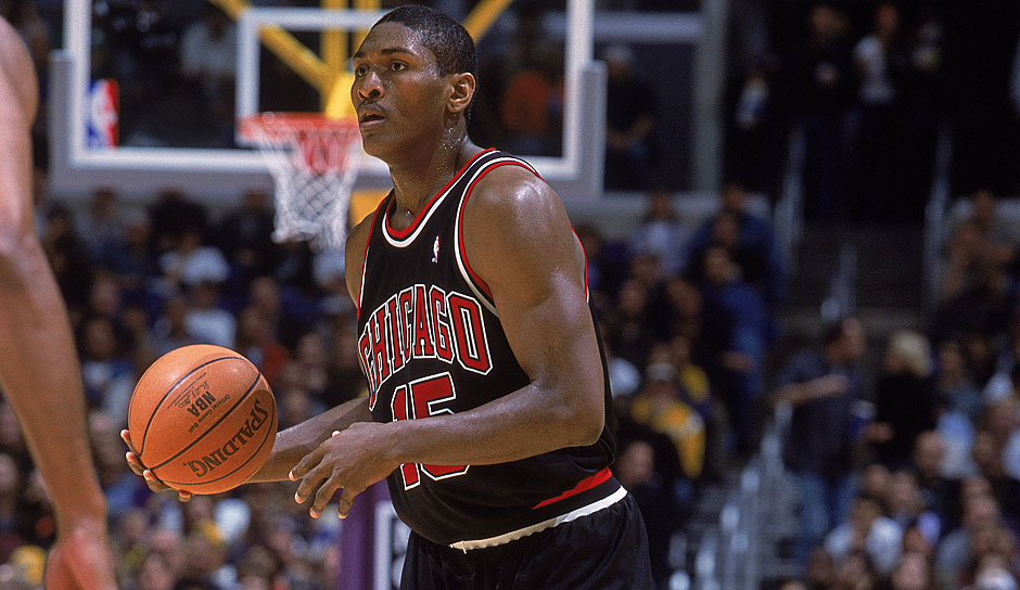 Platz 5: Ron Artest (Chicago Bulls) - 7 Punkte (0/13 FG), 9 Rebounds gegen die Orlando Magic in der Saison 1999/2000