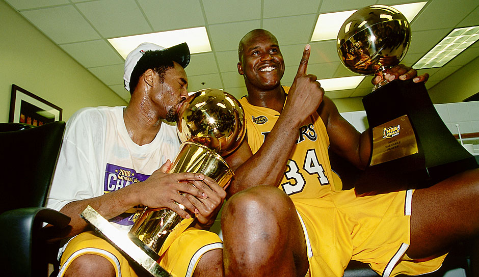 Platz 22: Los Angeles Lakers 1999/00 - Netrating: 9,0 - Champion
