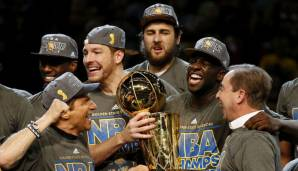 David Lee holte mit den Warriors die Championship