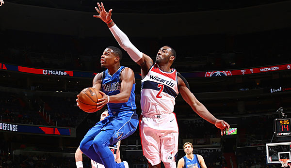Dennis Smith Jr. kratzte an einem Triple-Double