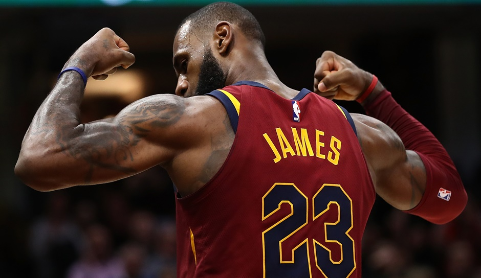 LeBron James (Cleveland Cavaliers): 42,2 Punkte