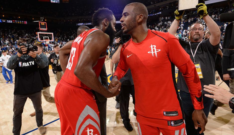 Houston Rockets Aufstellung