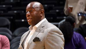 Magic Johnson ist der President of Basketball bei den Los Angeles Lakers