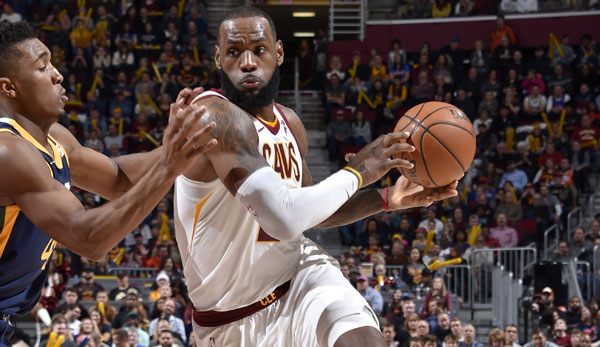 LeBron James erledigt die Washington Wizards