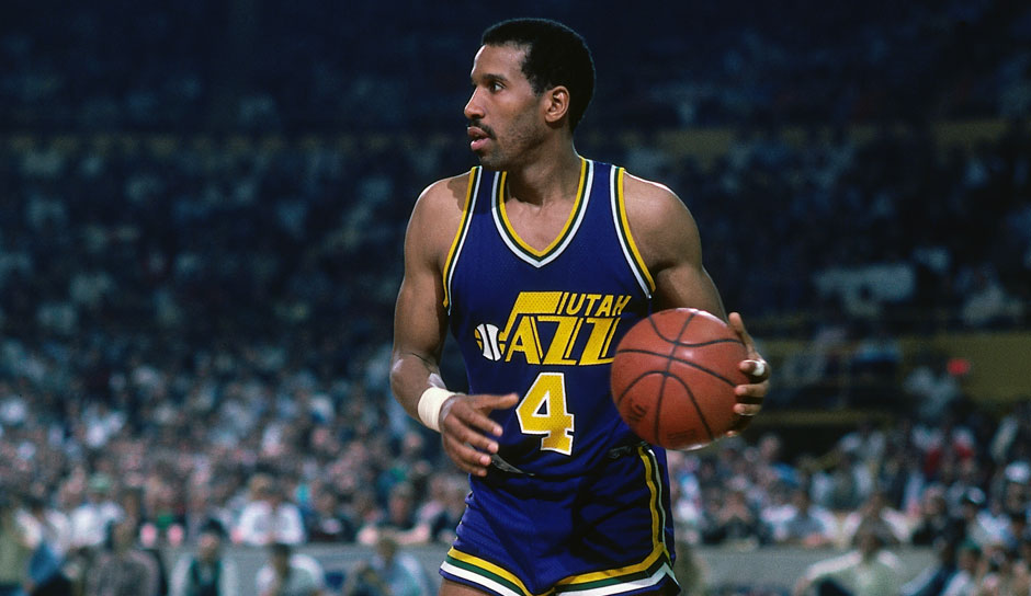 Platz 12: Adrian Dantley. 6-mal in 955 Spielen (Buffalo Braves, Utah Jazz, Detroit Pistons, L.A. Lakers, Dallas Mavericks, Indiana Pacers, Milwaukee Bucks)