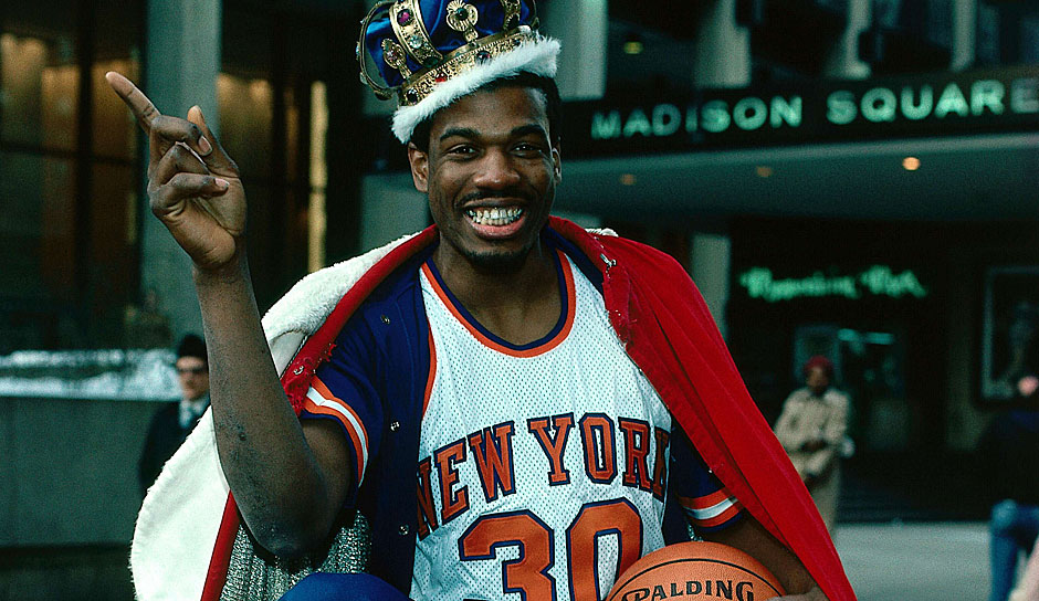 Platz 9: Bernard King. 8-mal in 874 Spielen (New Jersey Nets, Utah Jazz, New York Knicks, Washington Bullets)