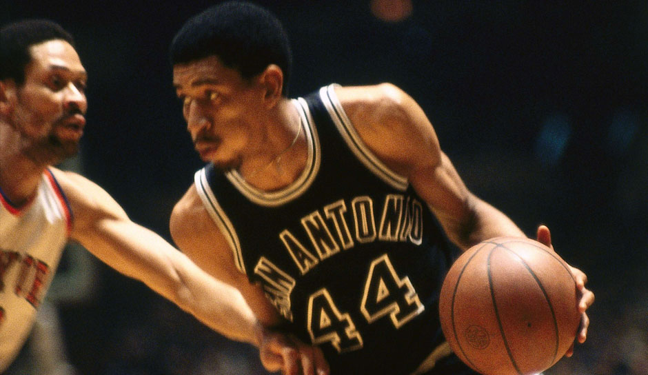 Platz 15: George Gervin. 5-mal in 1060 Spielen (San Antonio Spurs, Chicago Bulls)