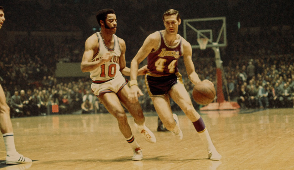 Platz 15: Jerry West. 5-mal in 932 Spielen (L.A. Lakers)