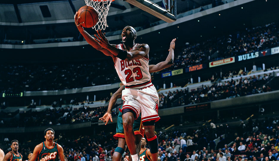 Platz 2: Michael Jordan. 31-mal in 1072 Spielen (Chicago Bulls, Washington Wizards)